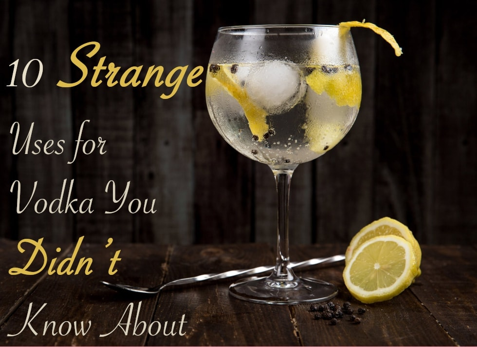 10 Strange Uses For Vodka You Didn't Know About