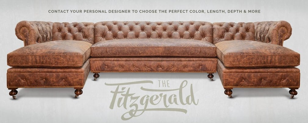 Swell Fitzgerald Sectionals Of Iron Oak Alphanode Cool Chair Designs And Ideas Alphanodeonline