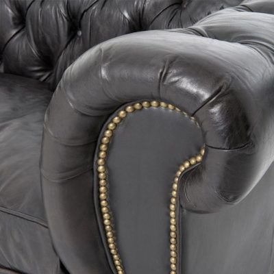 Detail Of The Hemingway's Robust Chesterfield Arm
