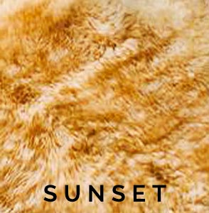 Sunset Austrailian Sheepskin