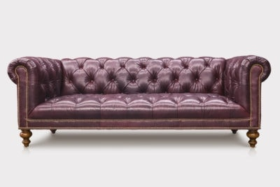Wright Chesterfield In Brompton Leather