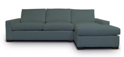 McQueen Track Arm Sectional With Chaise