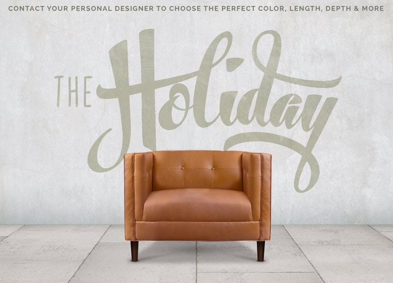 The Holiday: A Tailored Mid-Century Button Tufted Chair