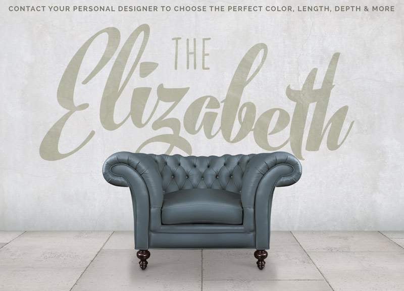 The Elizabeth: Sophisticated Chesterfield Chair