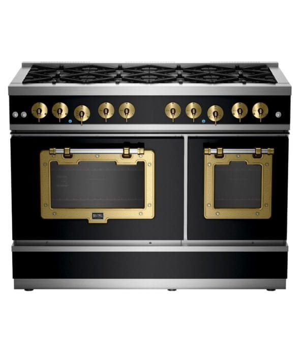 Big Chill Classic Range Matte Black With Brushed Brass