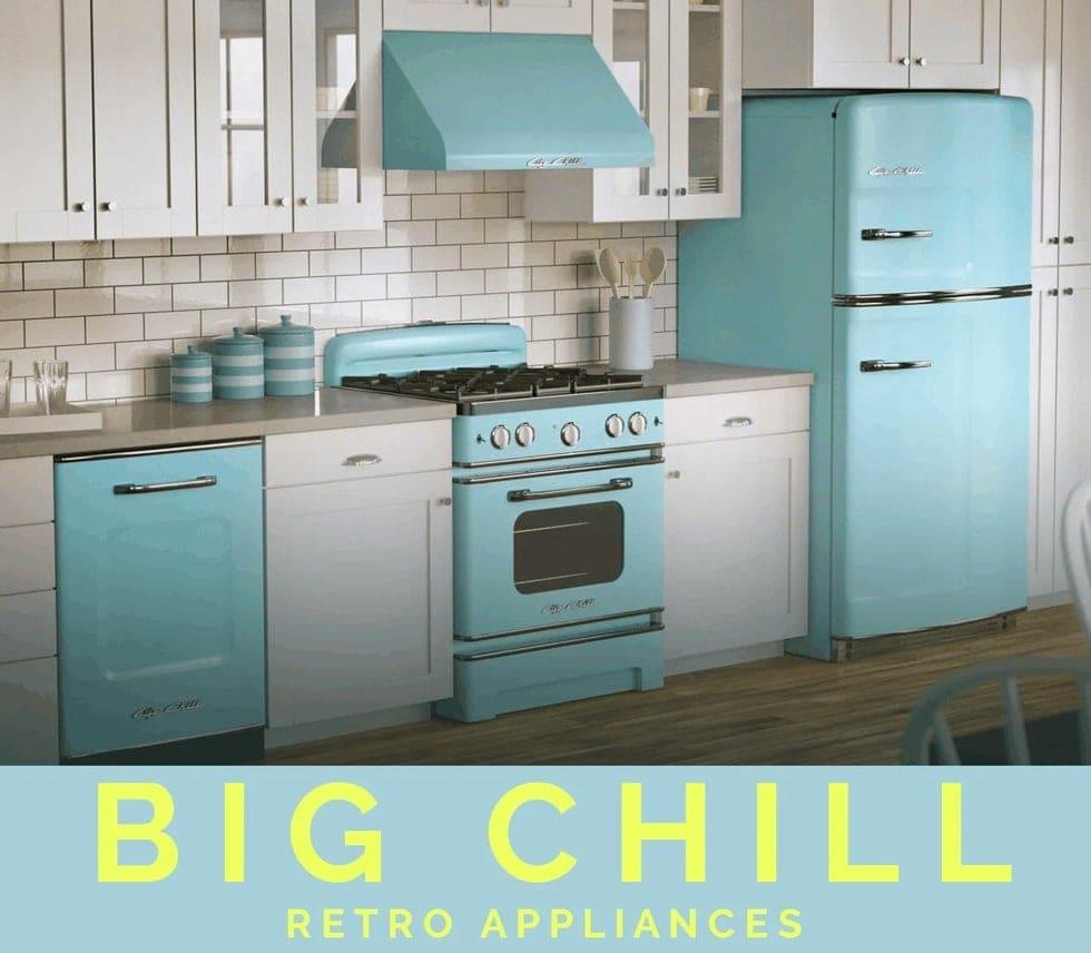 Big Chill Retro Appliances   of Iron & Oak